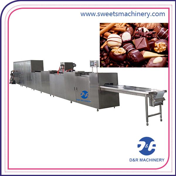 Servo Motors Chocolate Production Line Chocolate Making Machine with Ce