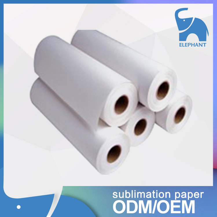 Low Price 80GSM 90GSM 100GSM Non-Sticky Sublimation Paper Roll