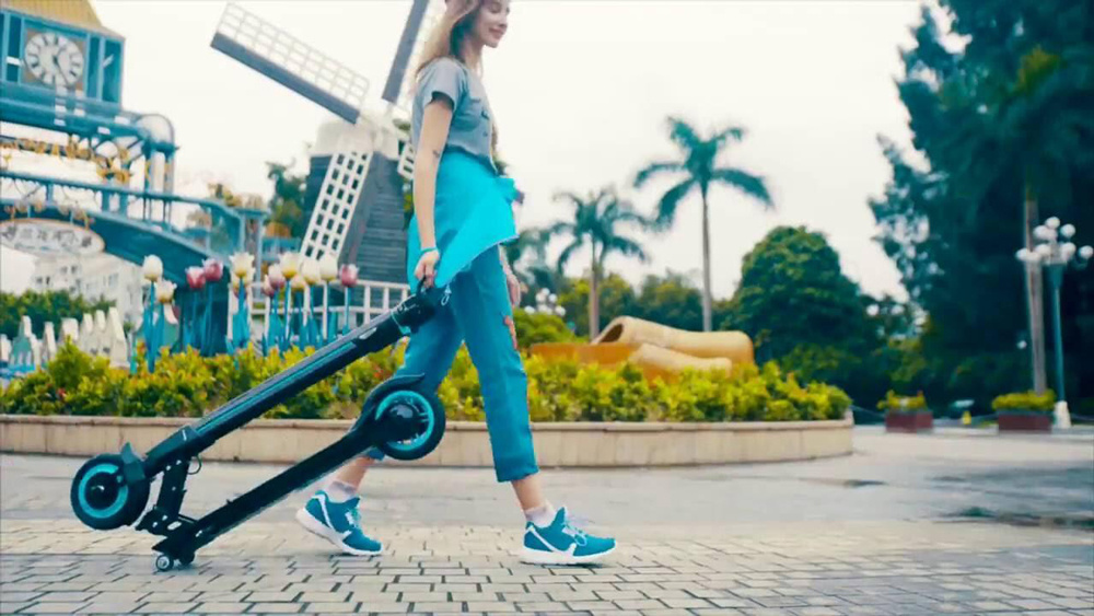 Koowheel Outs Foldable and Portable Mini Electric Scooter