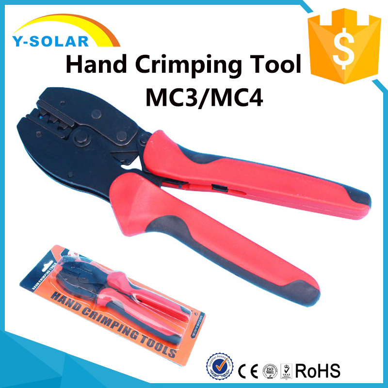 Mc3/Mc4 Hand Crimping Tool for Solar Panel PV Cables-2.5-6.0mm2 Mc4-Pliers1