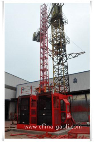 Gaoli 96m/Min Speed Sc200/200 Construction Hoist