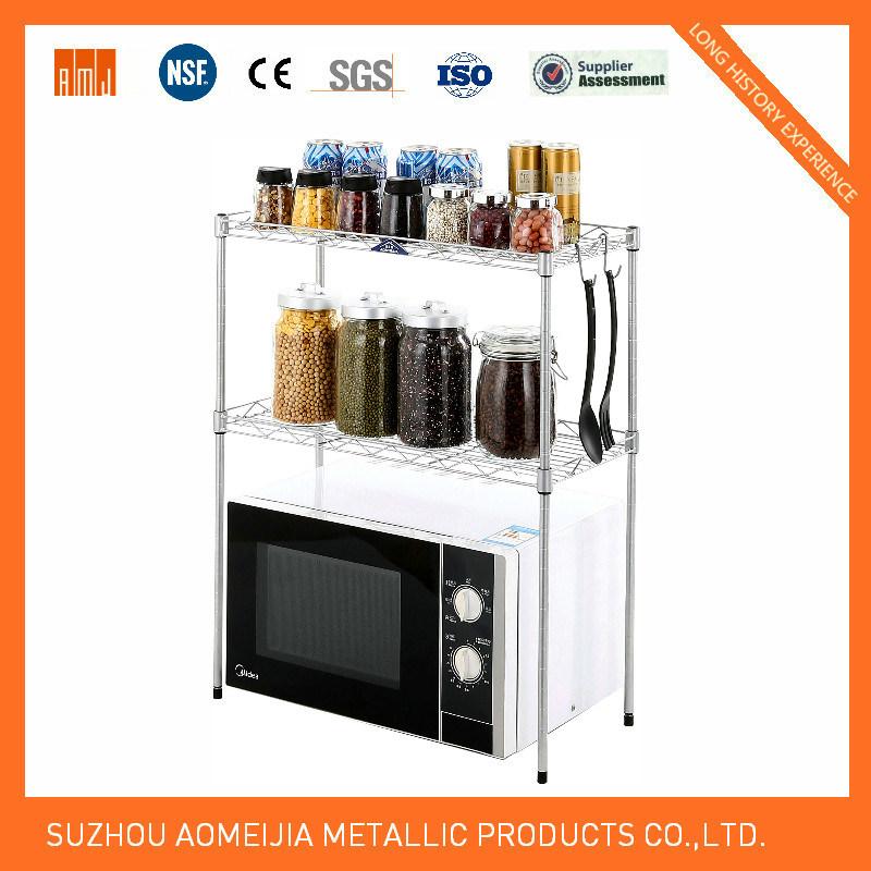 Hot Sale Metal Chrome Wire Shelf to Turkmenistan