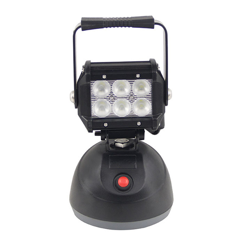 LED Rechargeable Magnetic Work Light for Square Ground