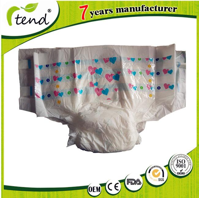 Wholesale Disposable Ultra Thick Plastic Back Pants Adult Diaper Manufacturer for Elderly Old People Hospital Senior