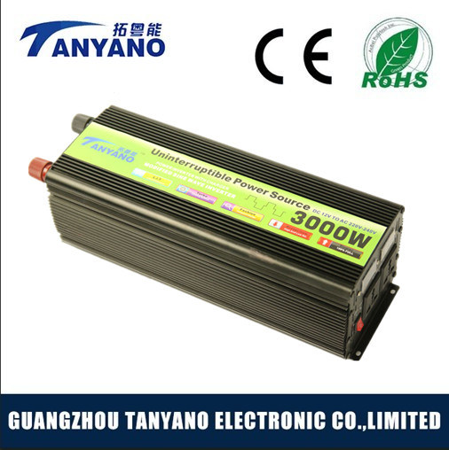 New Low Frequency 3000W Power Inverter with UPS Charger