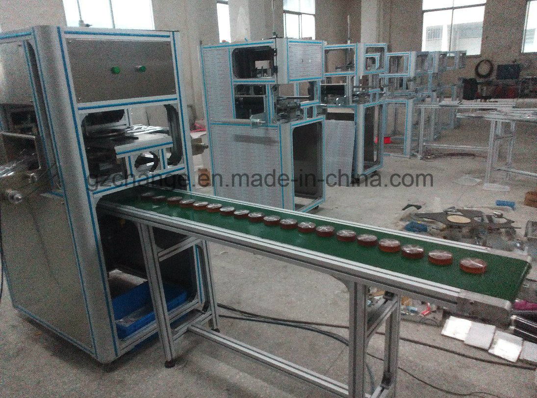 Auto Facial Cleaning Soap Packing Wrapping Machine