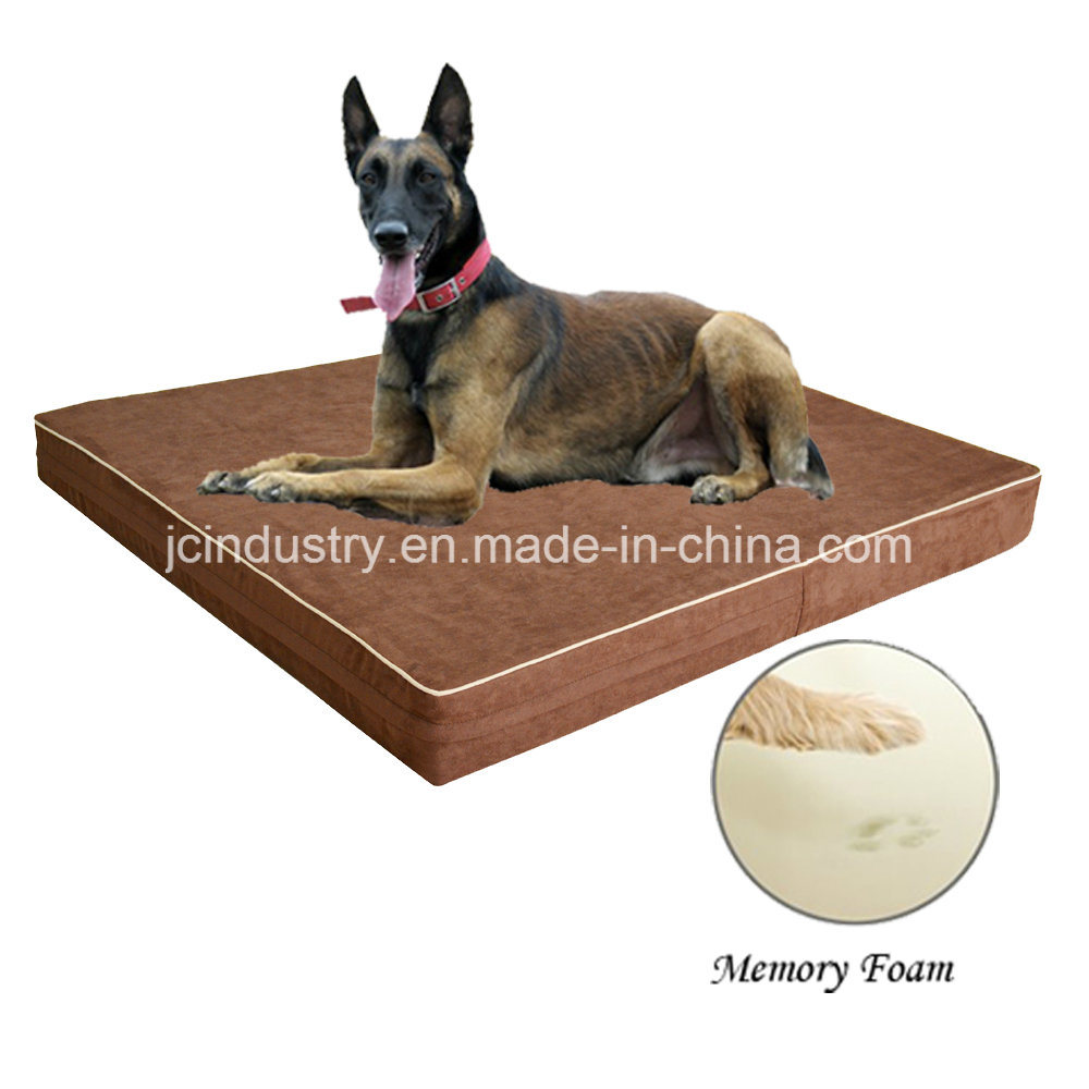 USA Popular Dog Bed with Suede Cover
