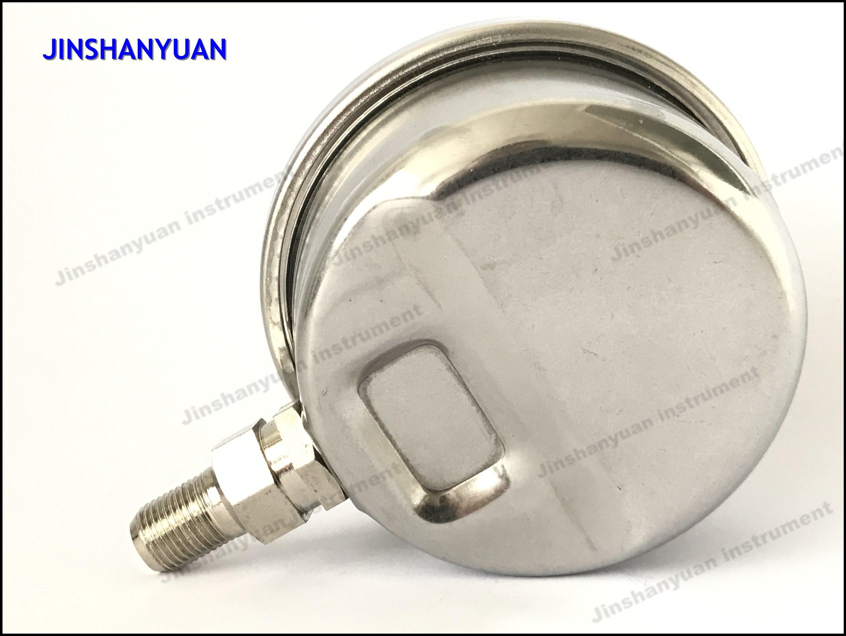 Og-010 Glycerine Pressure Gauge/Liquid Filled Pressure Gauge/Oil Pressure Gauge