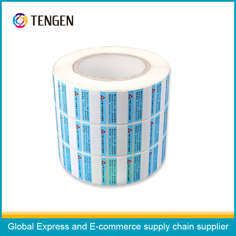 Multilayer Packing Adhesive Label Sticker