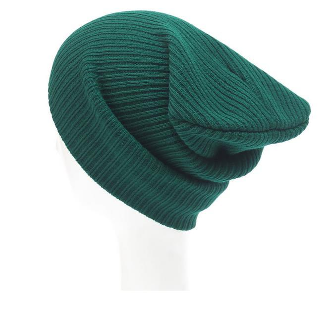 Ebay Hot Sale Plain Knitted Beanie Hat