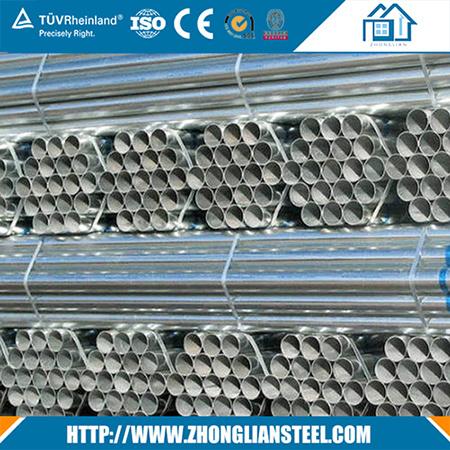 Low Price HDG Round Galvanized Steel Pipe