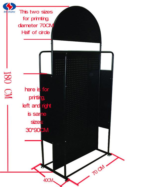Display Stand, Metal Display Racks, Pegboard Display Stand