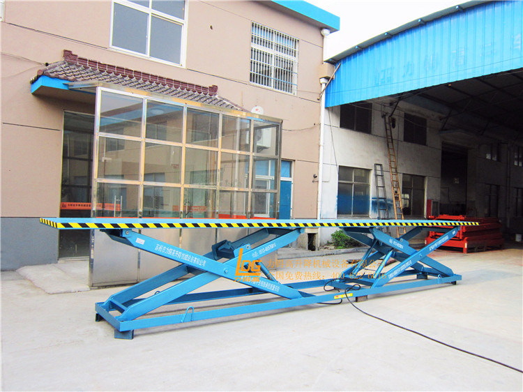 Stationary Hydraulic Double Scissors Table Lift (SJG0.5-1D)