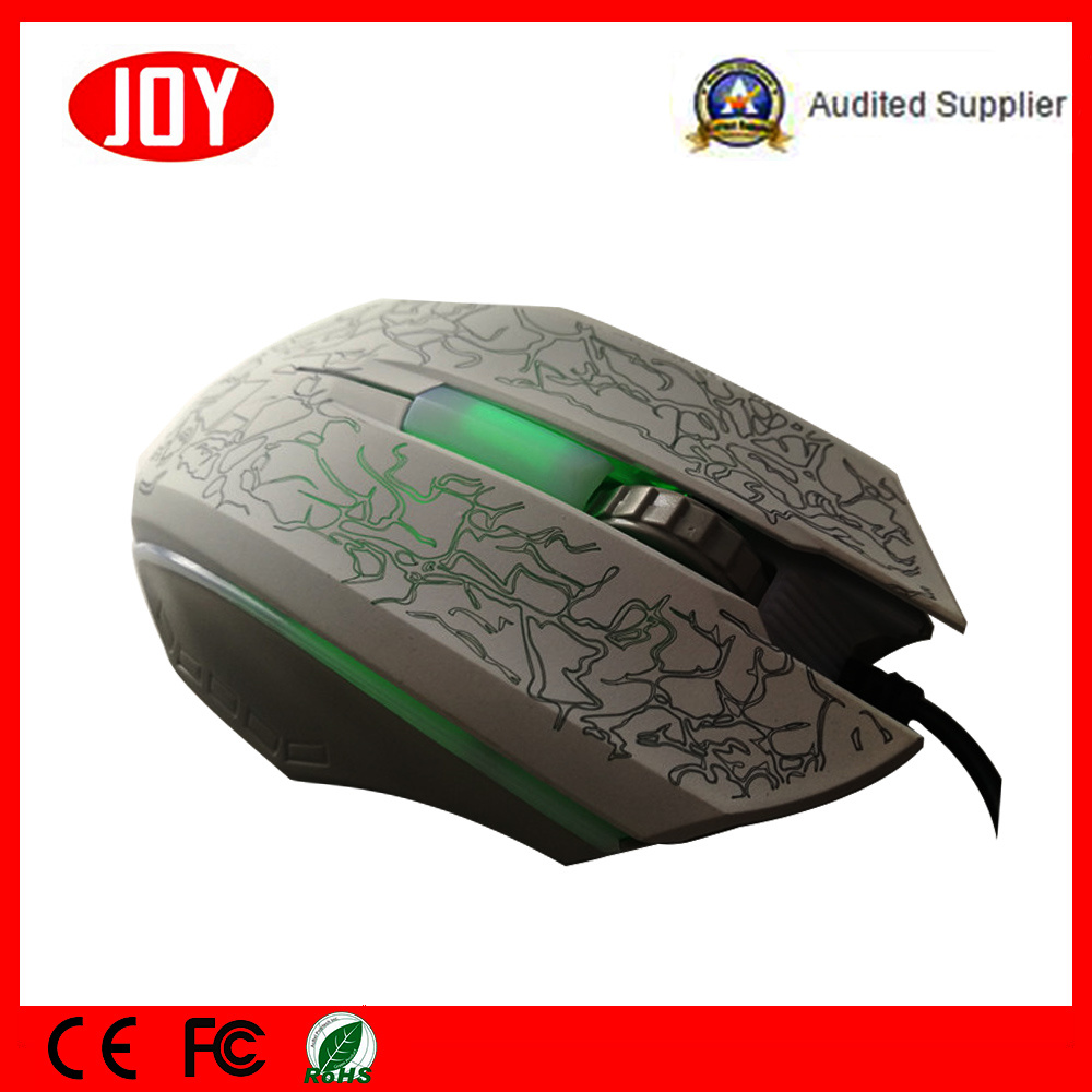 Laser Design LED Pattern Computer USB Wired Mouse