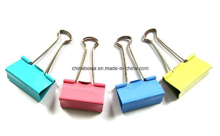 Manufacturer of Binder Clips, Black Binder Clips, Colored Binder Clips in China