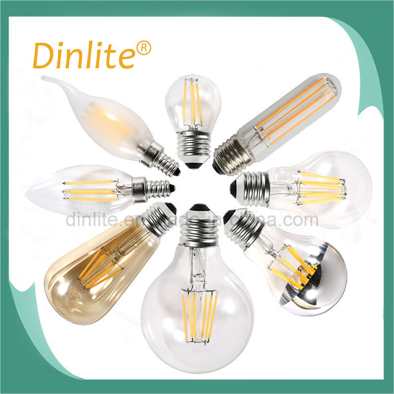 Factory directly Candle Flame CA35 LED filament lamp