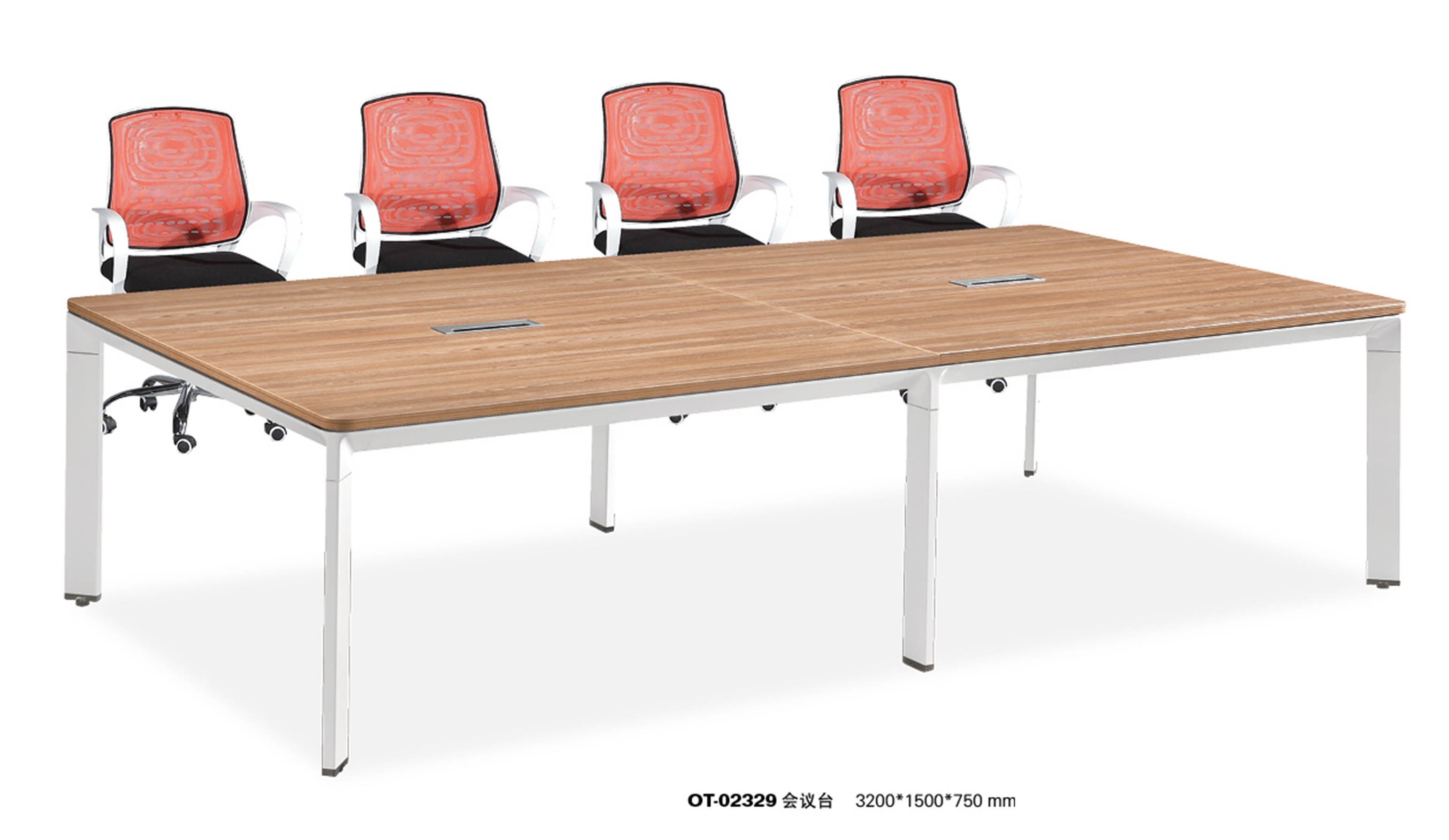 Chinese Wooden Training Meeting Conference Table Office Furniture