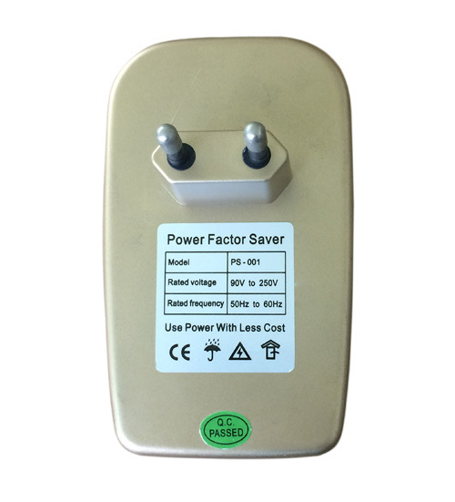 Factory Supply Power Factor Saver for Home Use with Plug