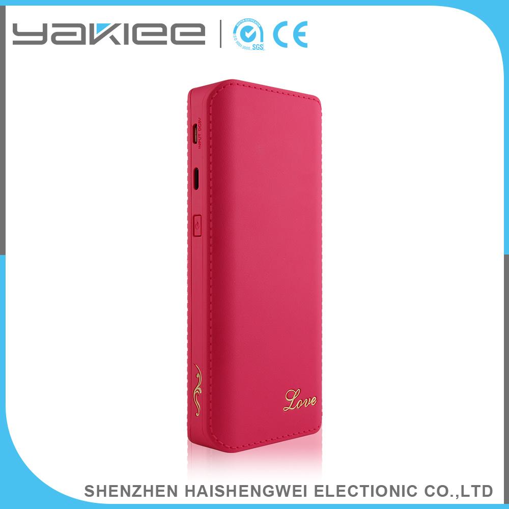 Portable 10000mAh/11000mAh/13000mAh Two USB Power Bank