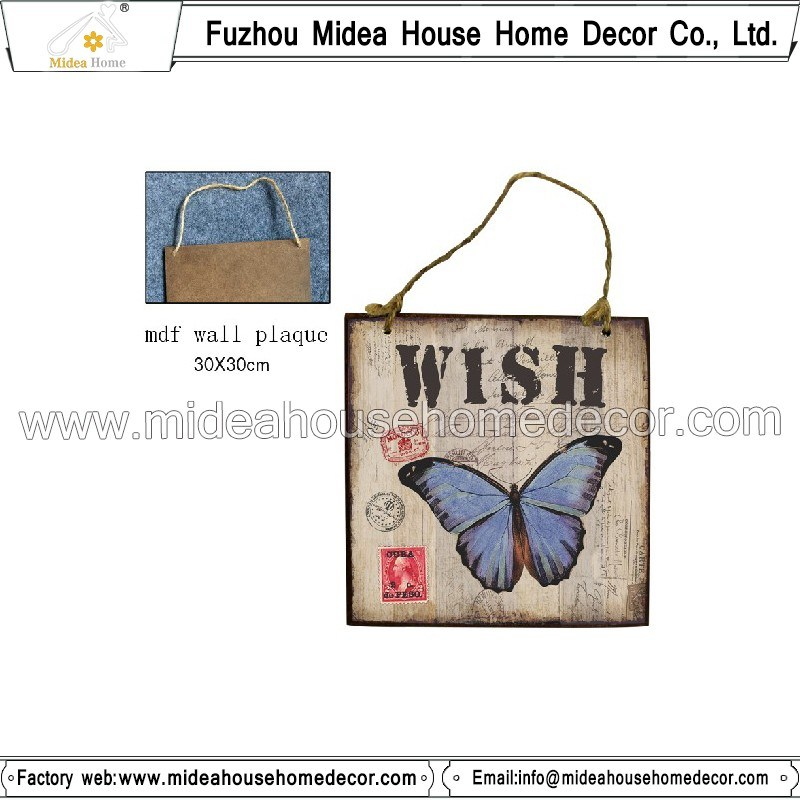 Small Sign Wooden Home Decor