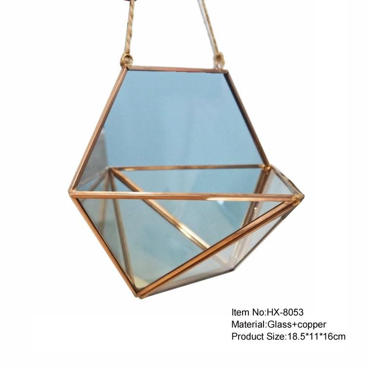 Micro Landscape Decor Tabletop Glass Terrarium Vase Manufacturer