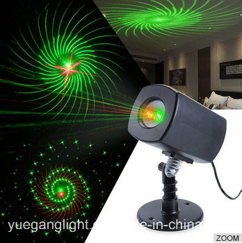 Full Sky Shooting Outdoor 5V Waterproof Christmas Tree Projection Laser Light for Garden Party Decoration