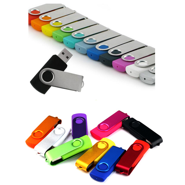 Factory Metal Plastic Swivel USB 2.0 3.0 Flash Memory Disk