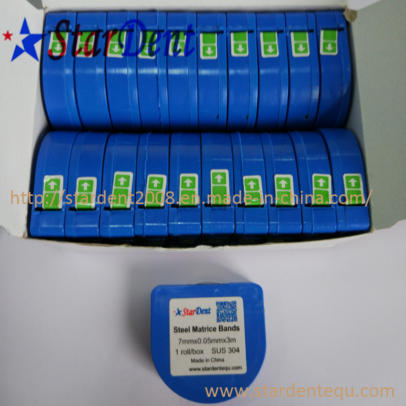 Dental Matrix Roll Bands Steel Matrice Bands of Lab Hospital Medical Surgical Diagnostic Equipment