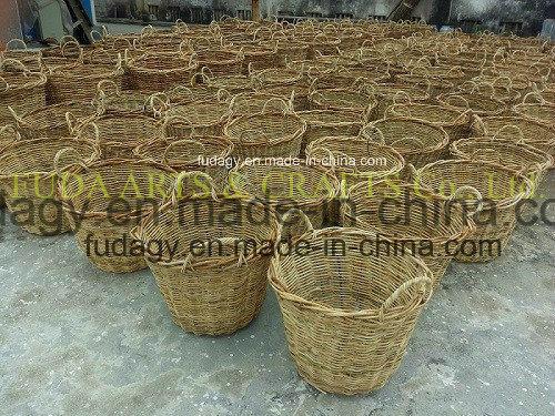 Bird Salim Rattan Flower Basket