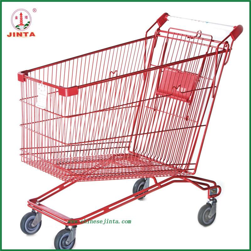 Chain Retail Store Folding Shopping Trolley (JT-EC16)