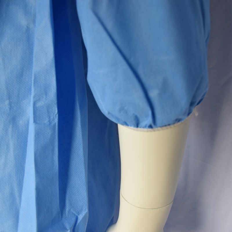 Disposable Light Blue SMMS Coverall, Disposable Overall