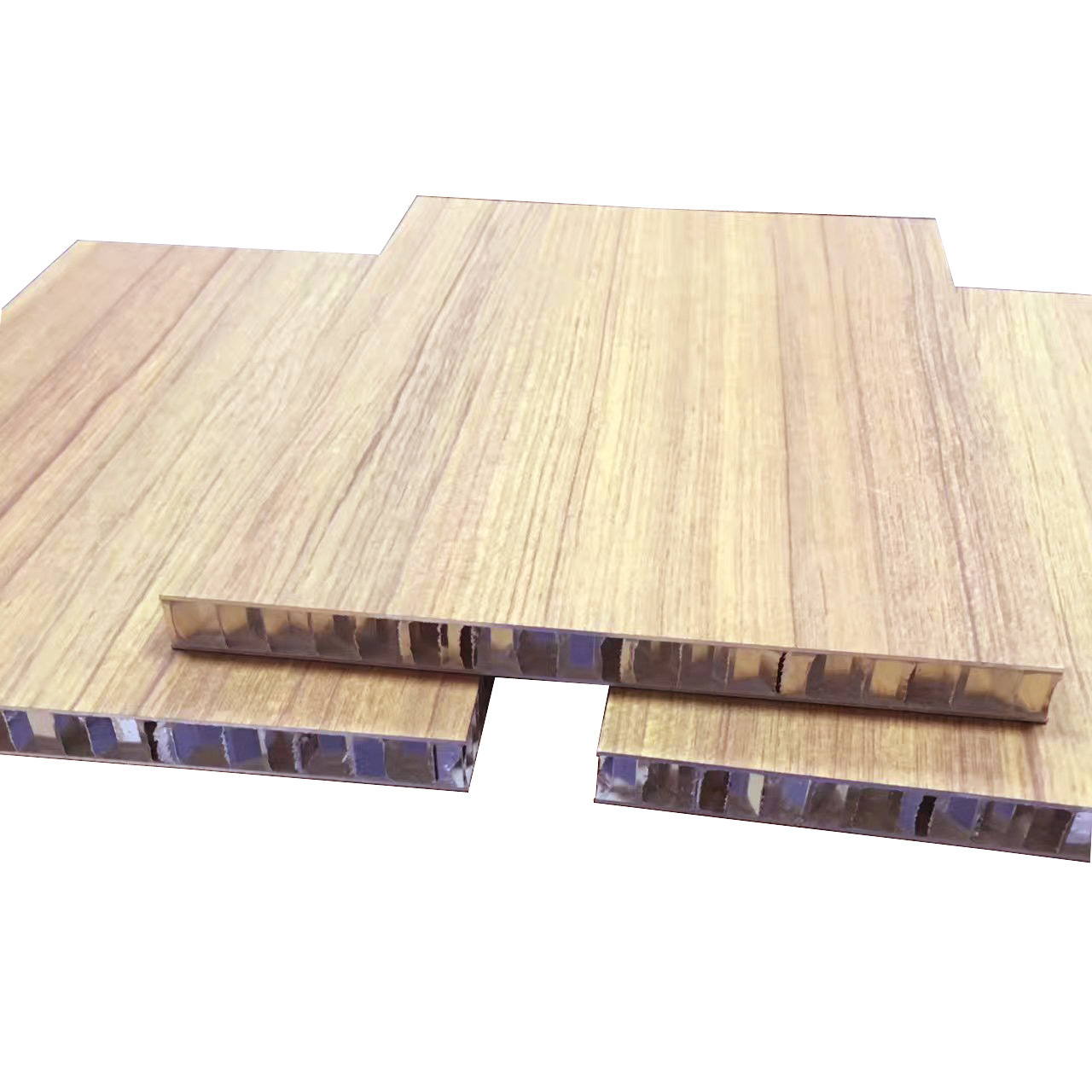 Wood Color Aluminum Honeycomb Panel Sandwich Panel
