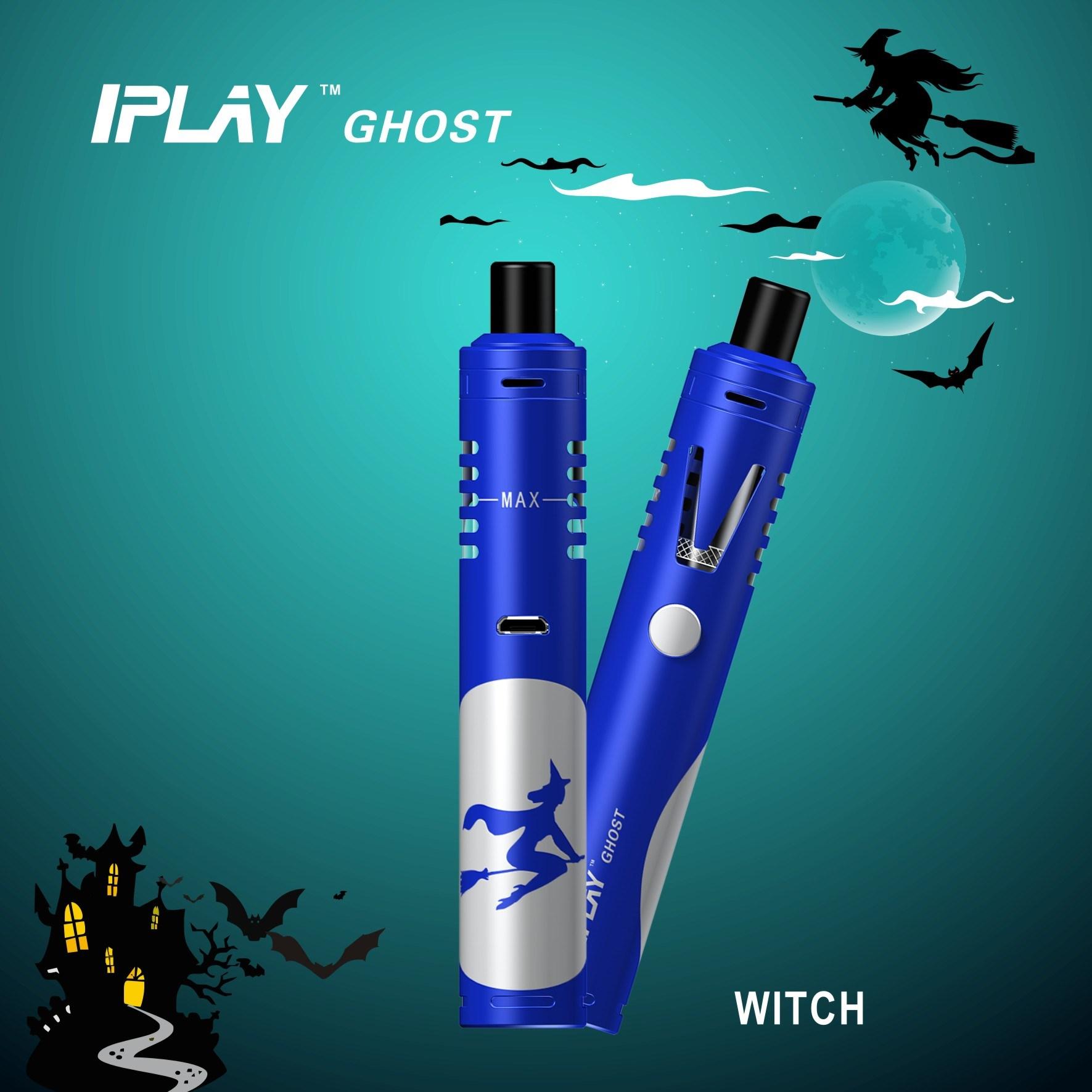 Electronic Cigarette Aio E Cigarette of Eliquid Vape Starter Kit Iplay Ghost