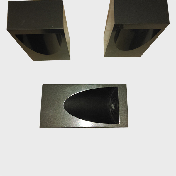 CNC Machined Aluminum Outdoor Light Parts with E-Coating and Painting