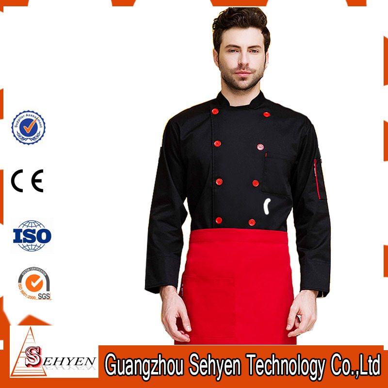 Professional Restaurant Cook Uniform Design and Chef Workwear Design