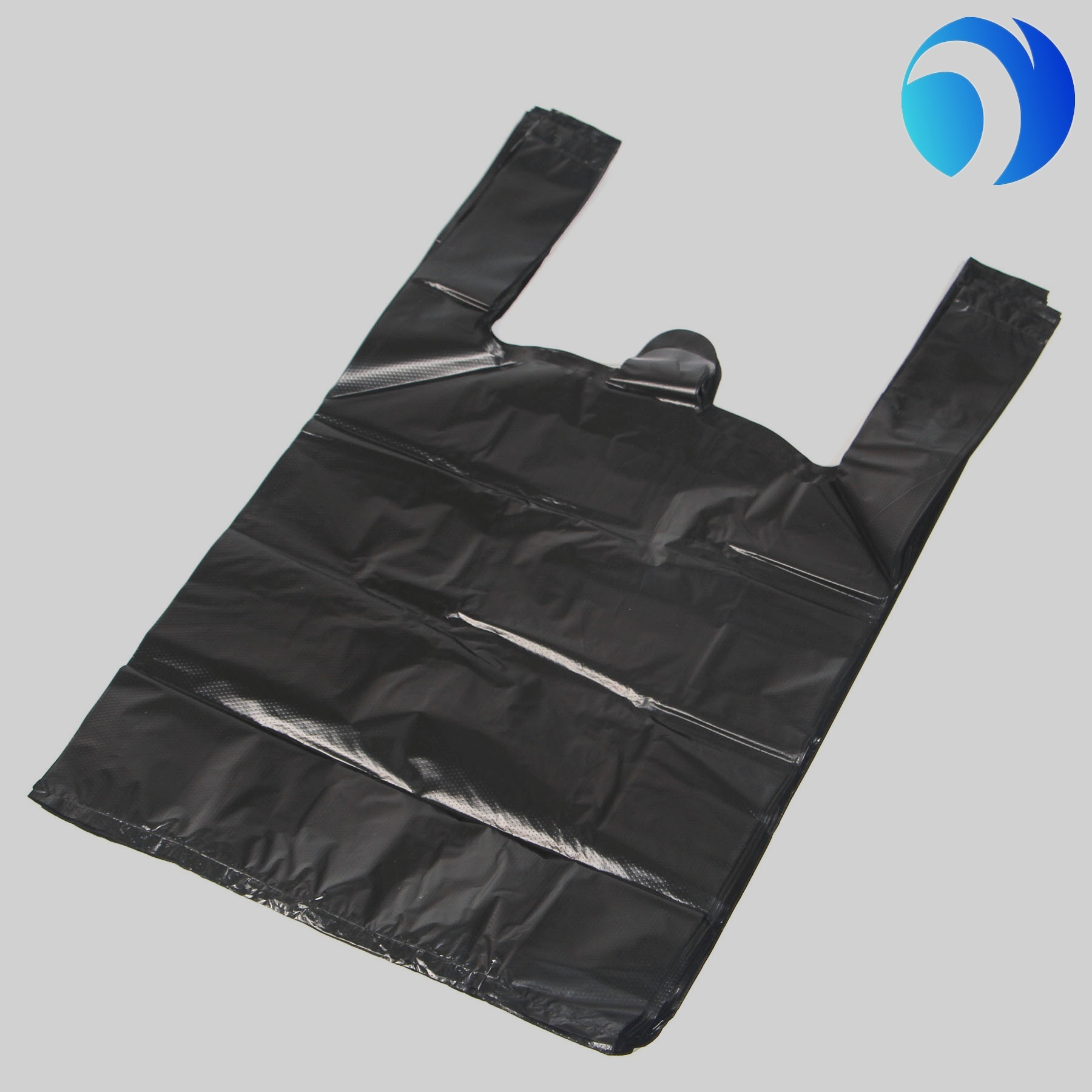 OEM Custom Printed Plastic Shopping Bag Carrier Bag T Shirt Plastic Bag