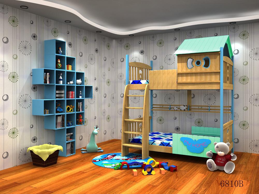 Children Loft Bed Children′s Furniture