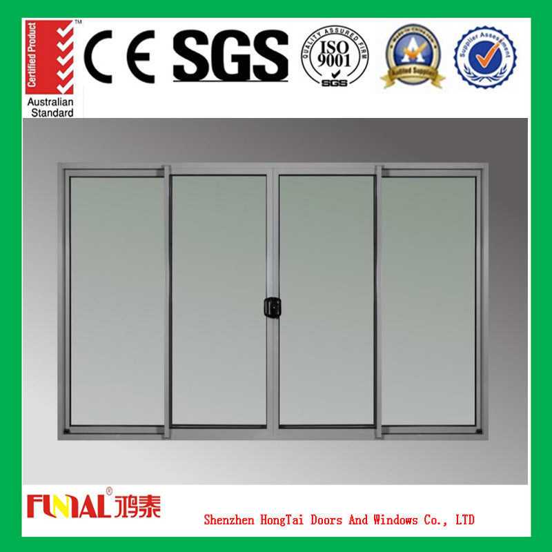 Triple Double Glazing Sliding Door with Ce Certification