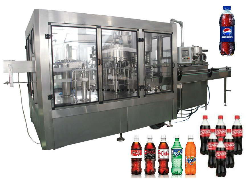 Complete Carbonated Soft Drinks Production Line for Coca Cola Pepsi