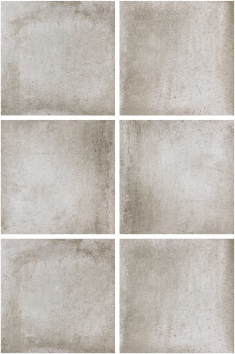 600*600mmm Hot Sale Light Grey Cement Rustic Tile for Hotel