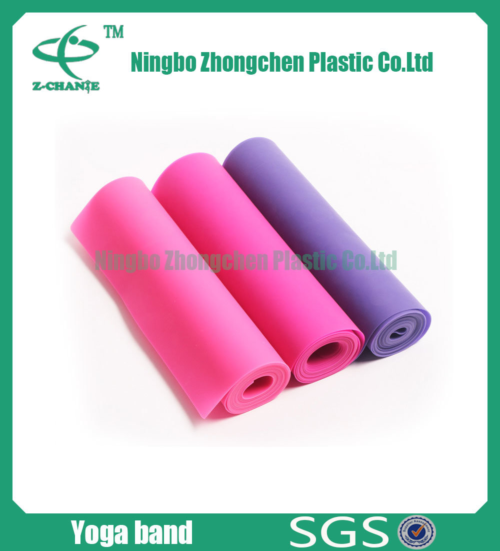 Best Fitness Stretch Bands Natural Latex Resistance Band with Custom Logo