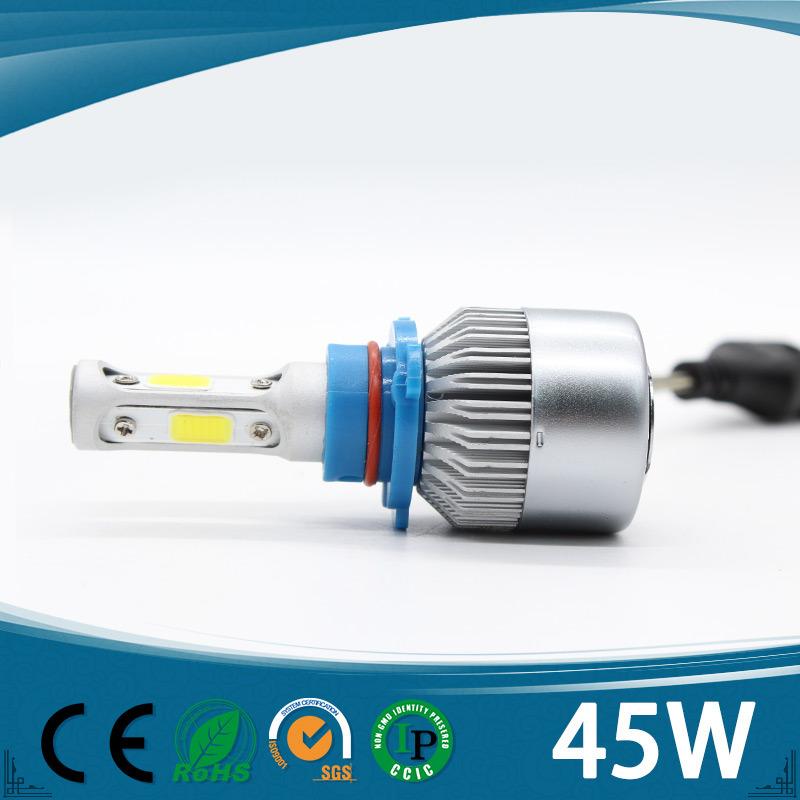 Three Sides Super Brighting 43W IP68 Car LED Headlight H7 for Cars