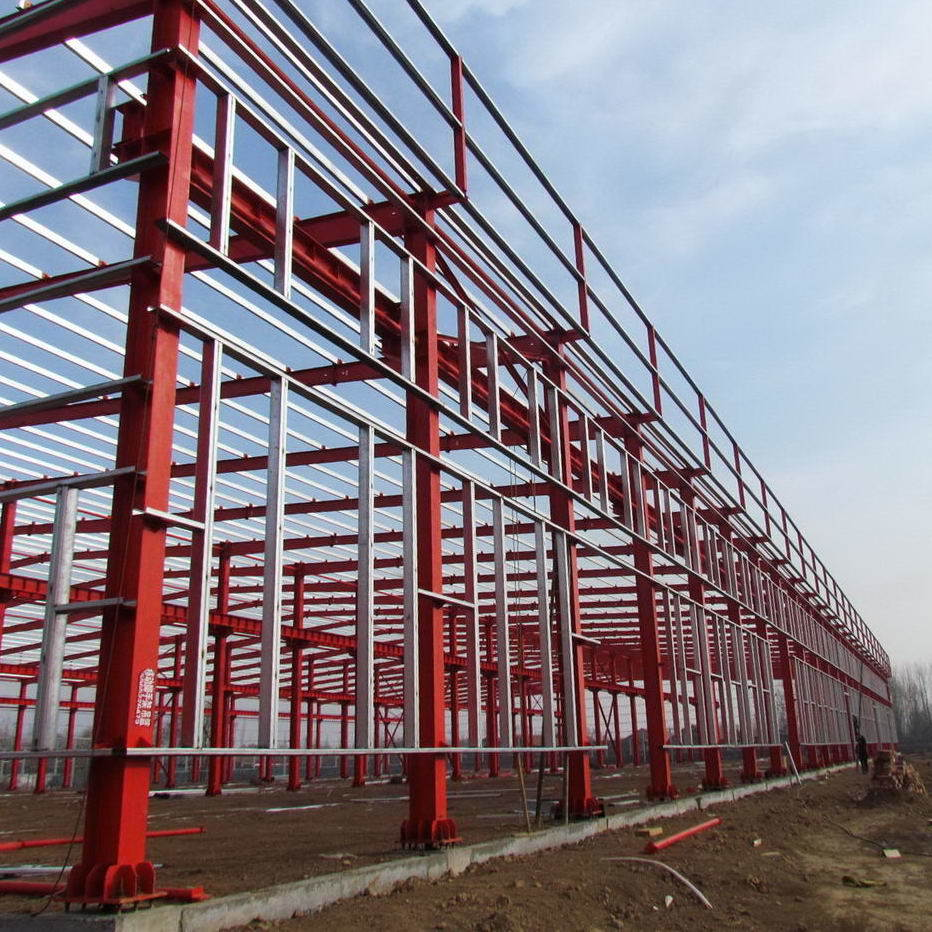Steel Structure Prefab Factory From Hapy China