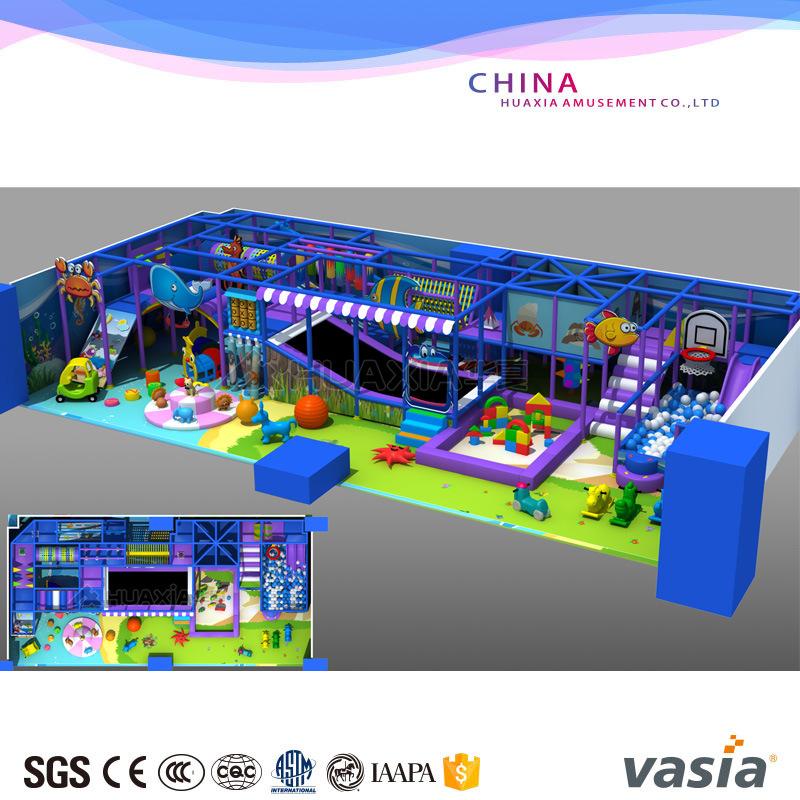 EU Standard Funny Kids Indoor Playground Equipment Candy Theme