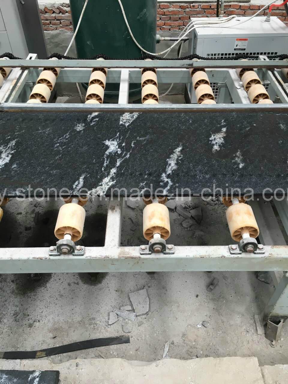 Chinese Snow Grey/Black/Jet Mist Granite for Floor/Wall/Stair/Step/Paver/Kerbstone/Landscape/Palisade/Countertop