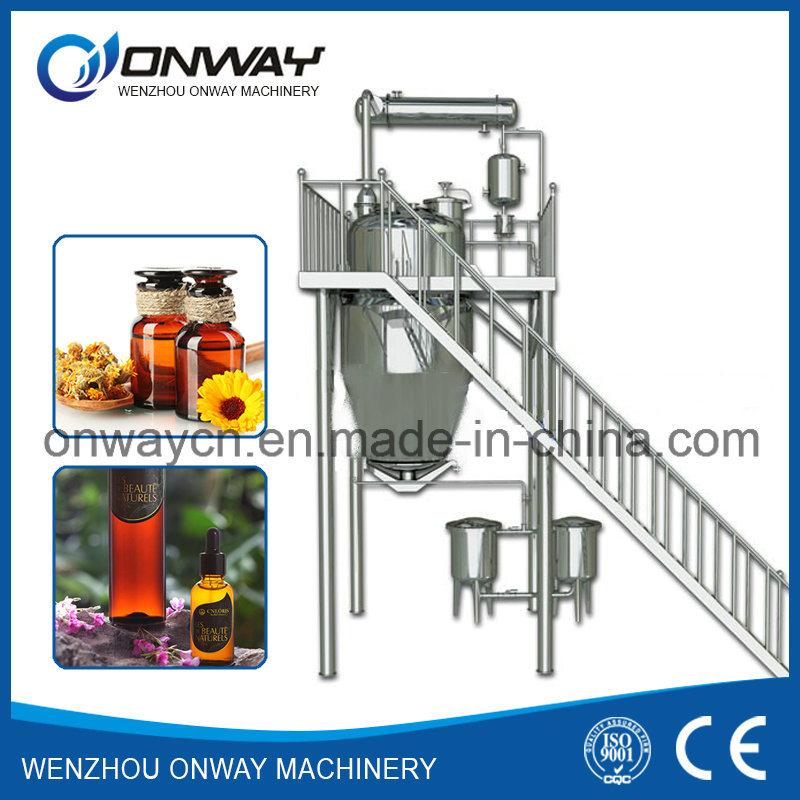 Tq High Efficient Energy Saving Industrial Steam Distillation Distillation Machine Essential Oil Distiller