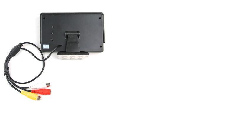 4.3 Inch Digital Color TFT Backup Car Monitor with 2AV