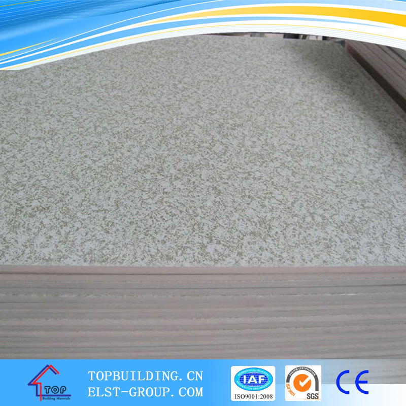 PVC Laminated Gypsum Ceiling Tile/PVC Gypsum Ceiling Tile/Gypsum Ceiling Board/Gypsum Ceiling/Standard Gypsum Board/Gypsum Board