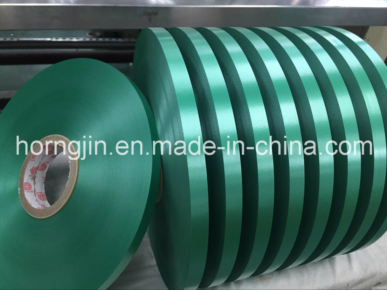 PP Wilding Tape Filler Tape Mylar for Cable Green Non Halogen