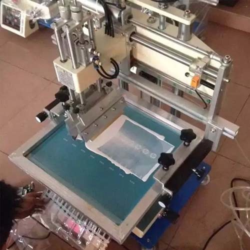 SMC Semi Automatic Screen Printer Silk Screen Printing